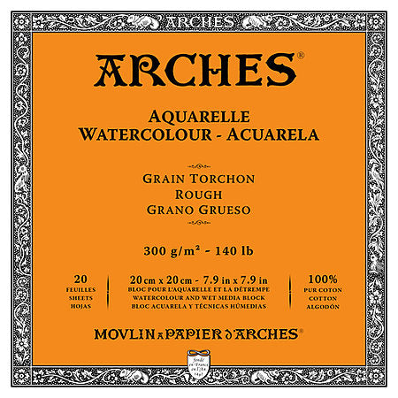 Arches 140LB Rough Watercolour Blocks