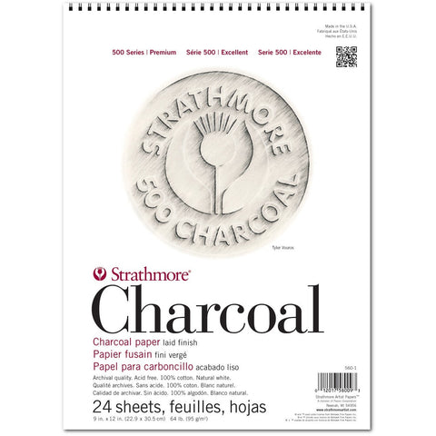 Strathmore 500 Series Charcoal Pads