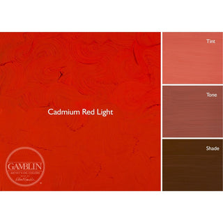 37ML / Cadmium Red Light