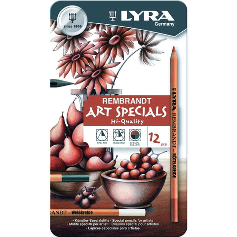 Lyra Art Specials Drawing Tin Set of 12