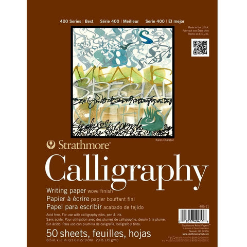 Strathmore 400 Series Calligraphy Paper Pad