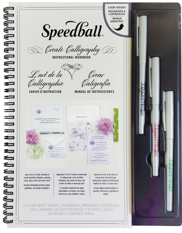Speedball Create Calligraphy Instructional Workbook