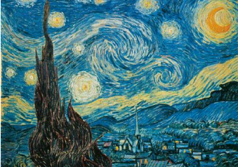 Van Gogh: Starry Night Puzzle
