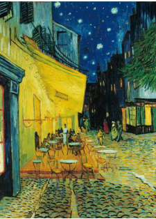 Van Gogh: Cafe Terrace at Night Puzzle