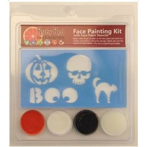Ruby Red Face Paint Halloween Set
