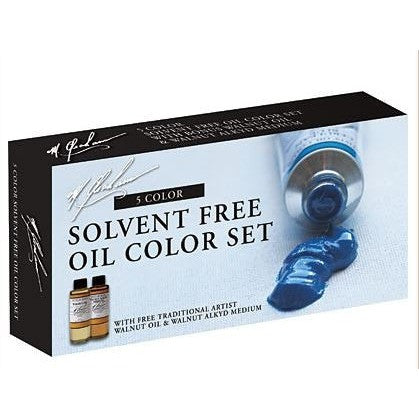 M.Graham Artist Oil Colour Bonus Set of 5
