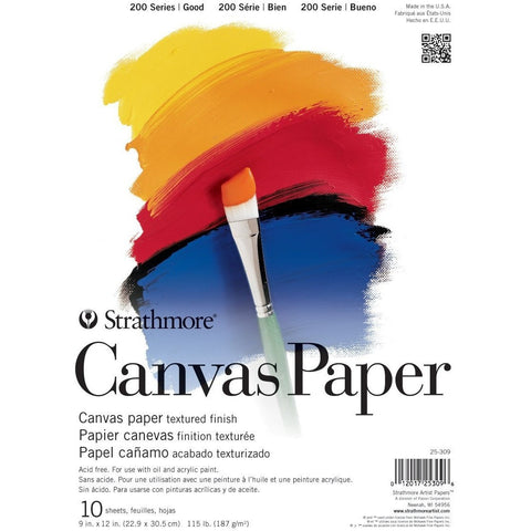 Strathmore 200 Series Canvas Paper Pad