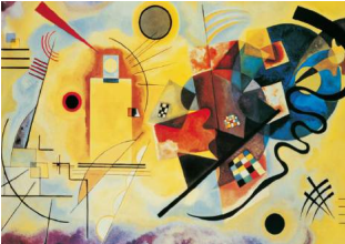 Kandinsky: Yellow-Red-Blue Puzzle