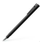 Faber-Castel Fountain Pen Neo Slim - Black, Matte