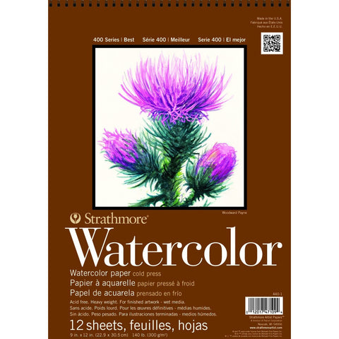 Strathmore 400 Series Watercolour Pads