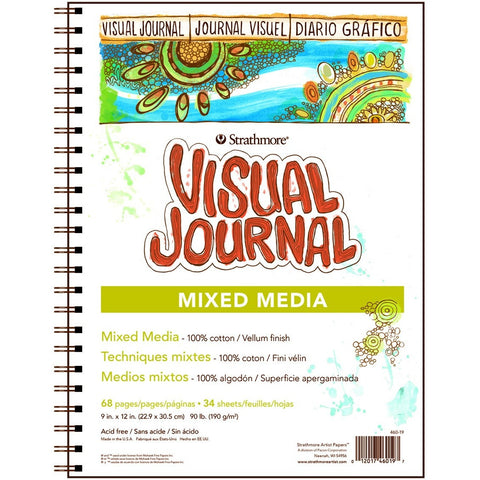 Strathmore Visual Journals - Mixed Media