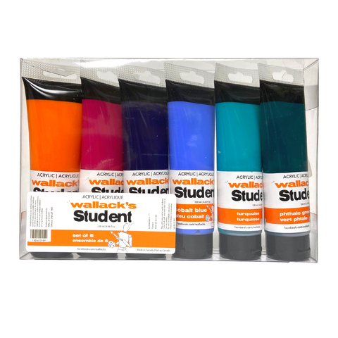 Wallack's Student Acrylic Secondary Set of 6