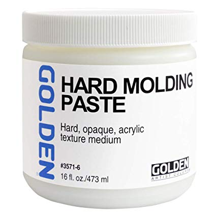 Golden Hard Molding Paste