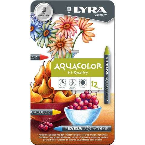Lyra Aquacolour Crayon Sets