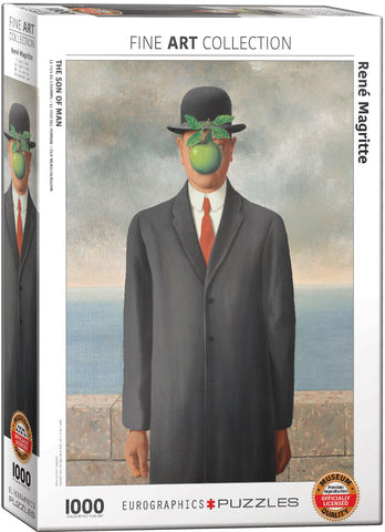 "Magritte ""Son of Man"" Puzzle"