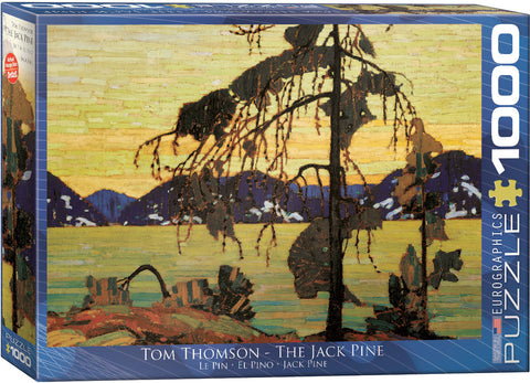 "Tom Thomson ""The Jack Pine"" Puzzle"