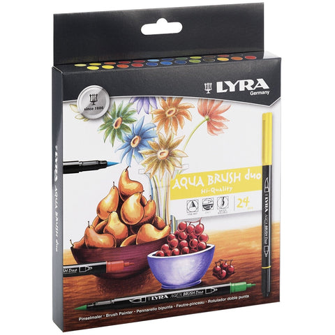 Lyra Aqua Brush Duo Marker Sets