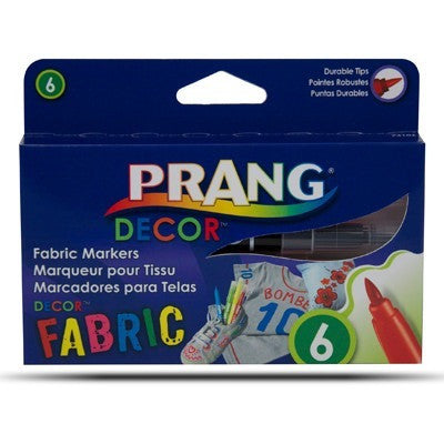 Prang Decor Fabric Marker Set of 6