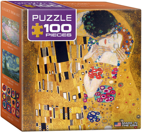 "Klimt ""The Kiss"" Mini Puzzle"