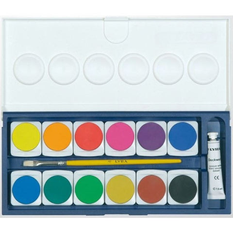 Lyra Opaque Watercolour Pan Sets