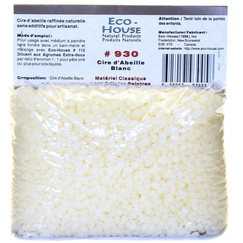 Ecohouse White Beeswax Pellets