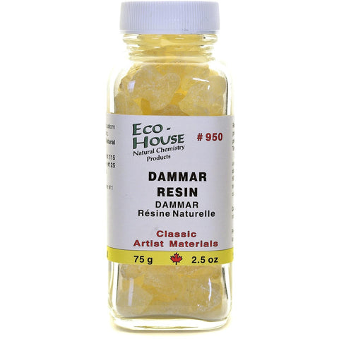 Ecohouse Damar Resin Crystals