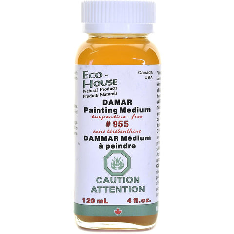 Ecohouse Damar Painting Medium