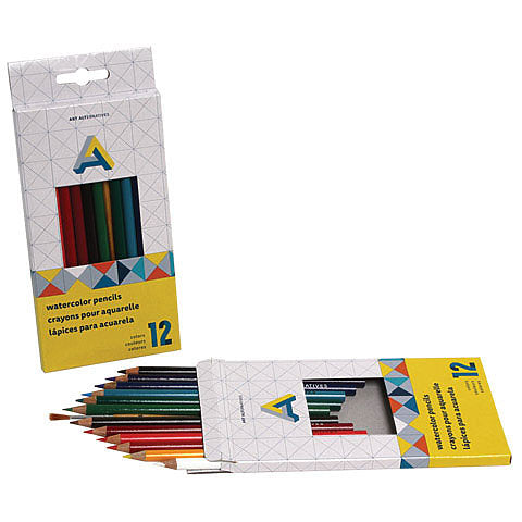 Art Alternatives Watercolour Pencils 12 Set