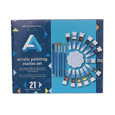 Art Alternatives Acrylic Painting Starter Set