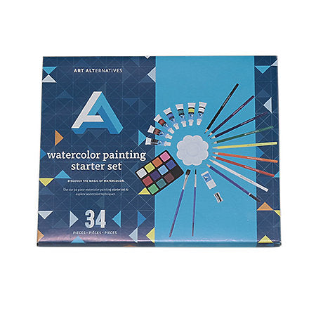 Art Alternatives Watercolour Painting Starter Set