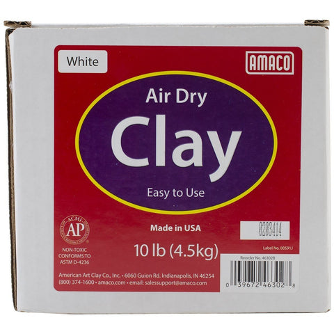 Amaco Air Dry Clay 10lb Box