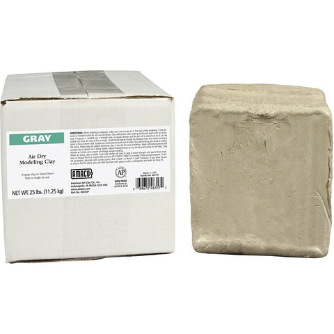 Amaco Air Dry Clay Gray