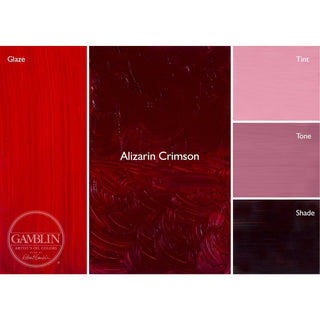 37ML / Alizarin Crimson
