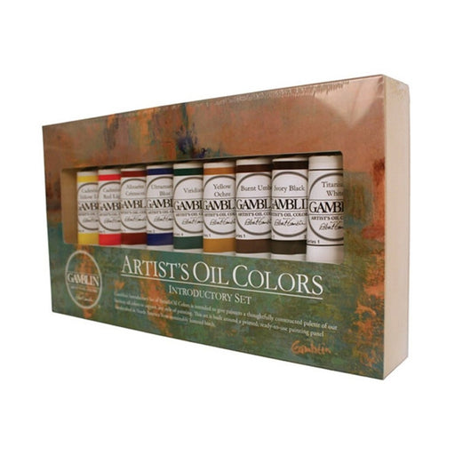 Gamblin Artist Grade Oils Introductory Set