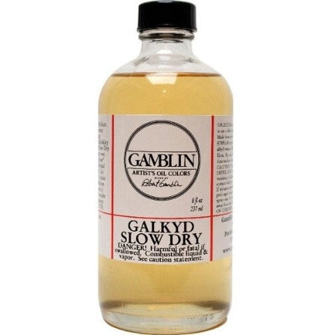 Gamblin Galkyd Slow Dry Medium