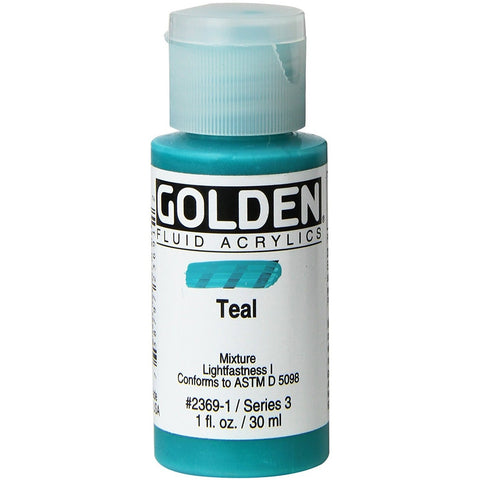 Golden 30ml Fluid Acrylics