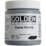 Golden Coarse Alumina Acrylic