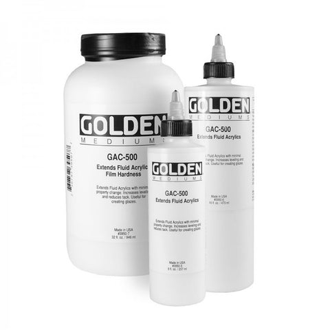 Golden GAC 500 Polymer Medium