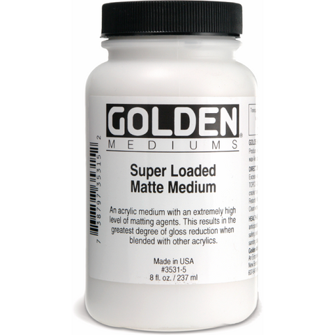 Golden Super Loaded Matte Medium