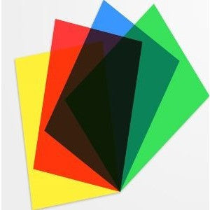 Grafix Clear-Lay Coloured Film Sheets