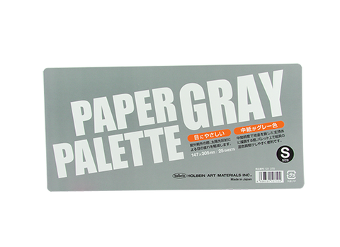 Holbein Grey Paper Palette