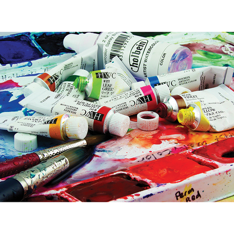 Holbein Artist Watercolour 5ml-Whites, Blacks, and Metallics
