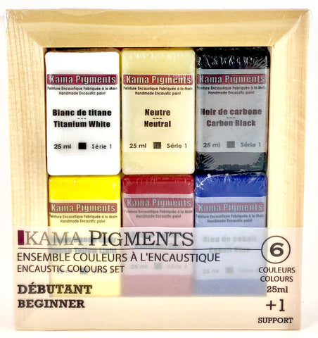Kama Pigments Encaustic Colour Sets