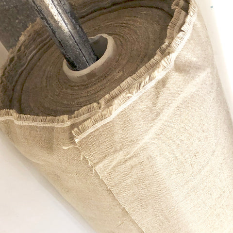"Light-Fast Belgian Linen Canvas - 54.5"" (10OZ)"