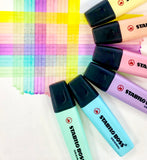 Stabilo BOSS Pastel Highlighters