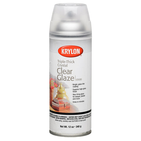 Krylon 12 oz. Triple-Thick Crystal Clear Glaze