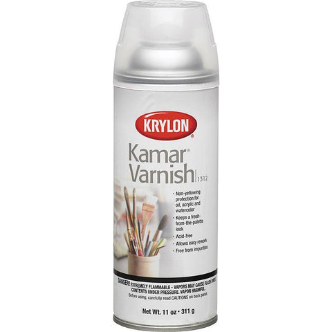Krylon 11 oz. Net Wt Kamar Varnish