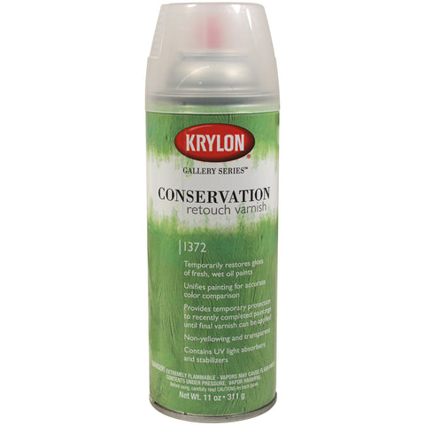 Krylon 11 net oz. Conservation Retouch Varnish