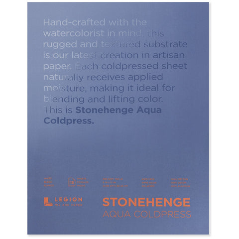 Stonehenge Aqua Coldpress Blocks