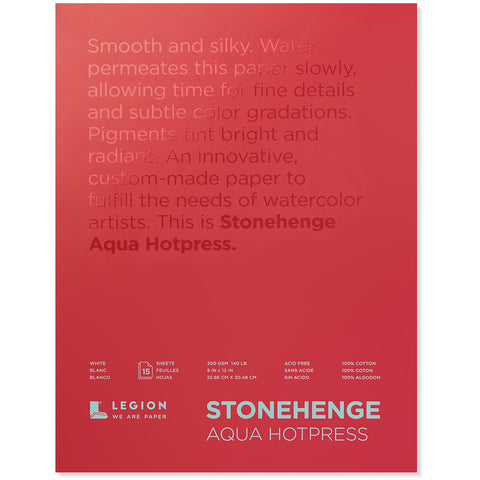 Stonehenge Aqua Hot Press Blocks